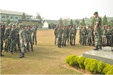 Kunjungan Asops Kodam Jaya Ke Yonif Mekanis 202/Tajimalela