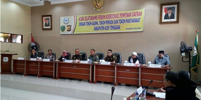 Kodim 0108/Aceh Tenggara Gelar Silaturrahmi Dengan Tokoh Lintas Agama