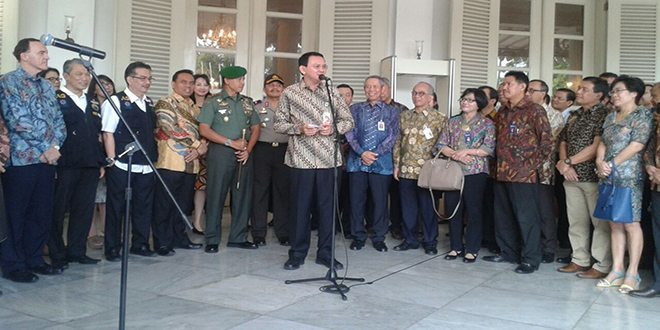 Pangdam Jaya Menghadiri Peresmian Pembukaan Operasi Pasar