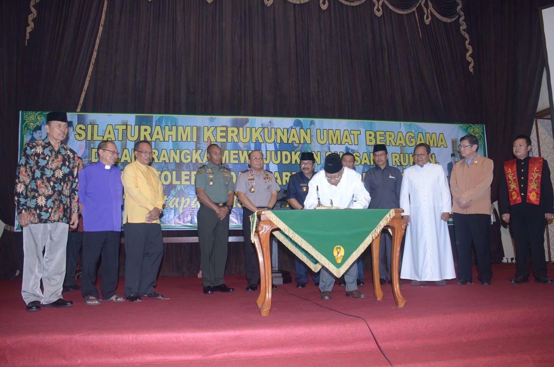 Pangdam V/Brawijaya Ajak Tokoh Agama untuk Hidup Rukun Mewujudkan Suasana Damai, Toleran dan Harmonis