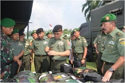Asisten Operasi Panglima TNI Cek Kesiapan Yonif 142/KJ