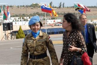 """Serma Rita Erna Mayasari: """"Sosok Kowad Dalam Misi Perdamaian PBB"""""""
