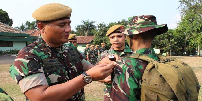 Upacara Pembukaan Tradisi Korp Masuk Satuan Jajaran Resimen Arhanud -1/Faletehan TA 2015