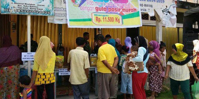 Kodim 0116/Nagan Raya Gelar Pasar Murah