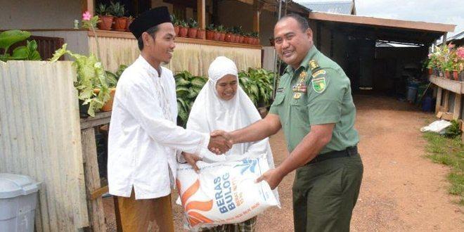 Jalin silaturahmi Korem 174/ATW berikan bantuan kepada Pondok Pesantren di Merauke