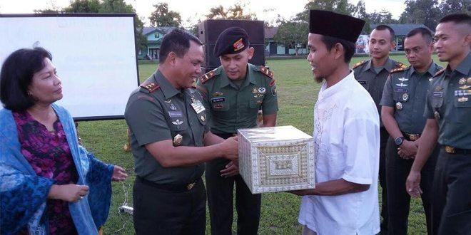 Buka Puasa Pangdam Xvii/Cenderawasih Bersama Prajurit TNI AD Se Garnizun Timika Di Mako Brigif 20/IJK