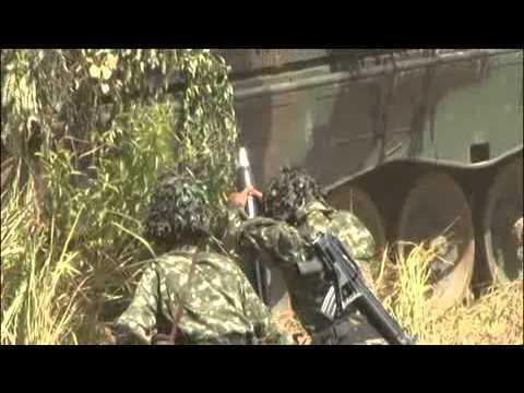 Video Demonstrasi Pertempuran TNI AD Ta 2015 Baturaja