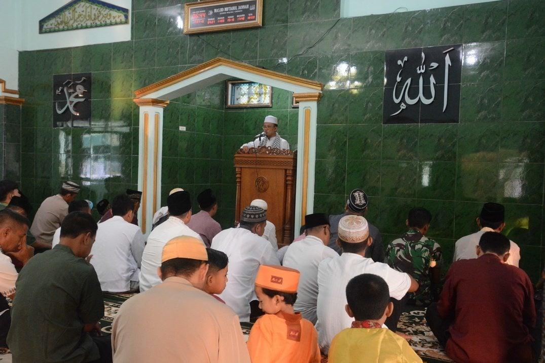 Korem 063/SGJ Laksanakan Sholat IED Bersama
