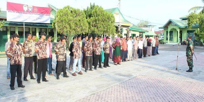 Dandim 0102/Pidie Ambil Apel Luar Biasa Kesiapan Pembangunan Nasional
