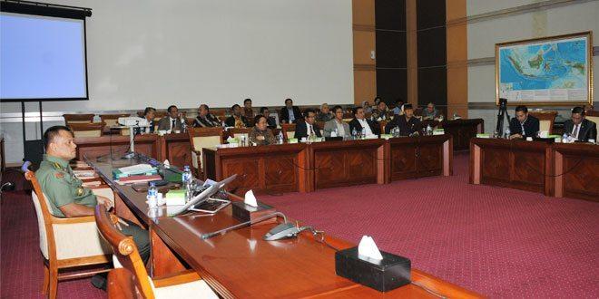 Rapat Dengar Pendapat Komisi I DPR RI Dalam Rangka Uji Kelayakan Calon Panglima TNI
