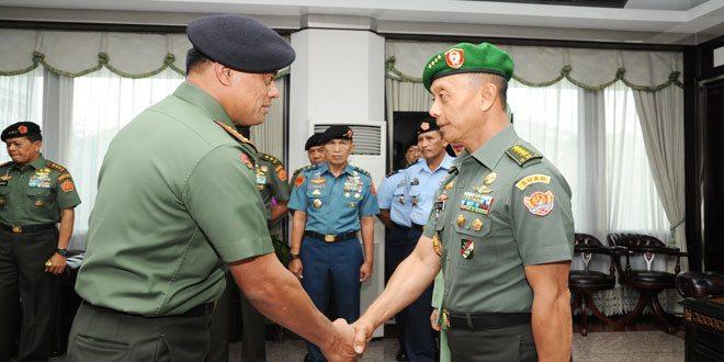Kasad dan 8 Pati TNI Naik Pangkat