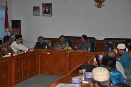 Danrem 031/Wirabima Rapat Koordinasi FKUB Di Kesbangpol Provinsi Riau