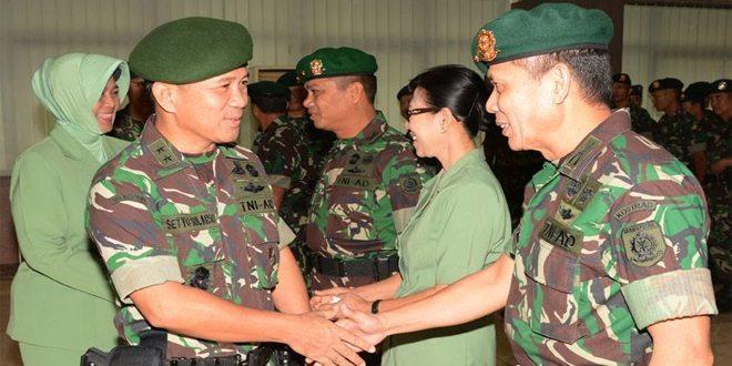 Acara Laporan Korps Penyerahan Jabatan Irkostrad Dan Serah Terima Jabatan Koorsahli Dan Kapal Kostrad