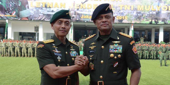Letjen TNI Mulyono Resmi Menjadi KASAD