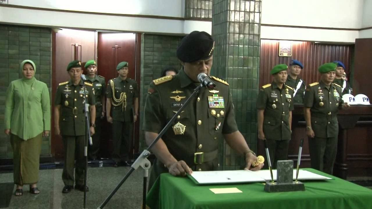 Pesan Jenderal TNI Gatot Nurmantyo Kepada Prajurit TNI AD Pada Sertijab KASAD