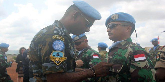 200 Prajurit TNI Terima Medali PBB di Afrika