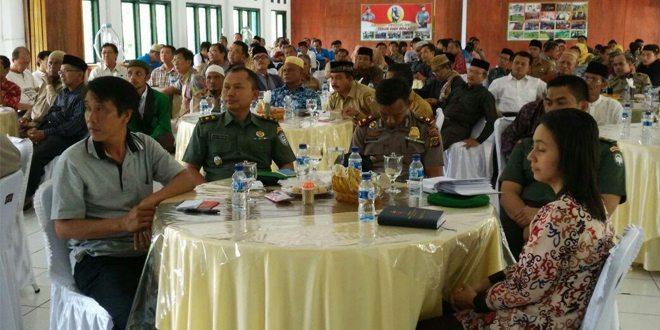 Kodim Nara Gelar Dialog Dengan Pemuka Agama, Cegah Imbas Tolikara di Aceh