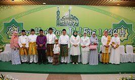 Danrem 031/Wirabima Menghadiri Open House di Kediaman Plt Gubernur Riau