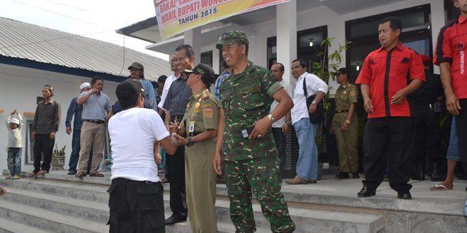 Pam KPU Dalam Rangka Pendaftara Calon Bupati Wonosobo
