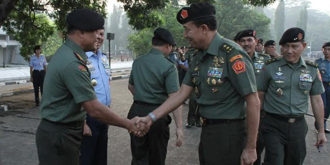 Panglima TNI Halal Bil Halal dengan Prajurit dan PNS TNI