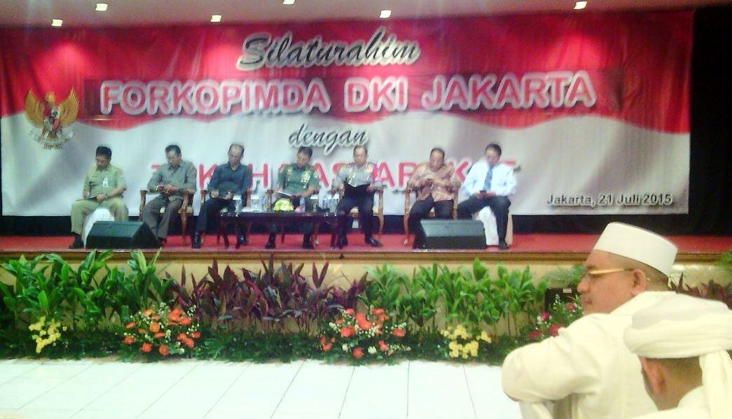 Pangdam Jaya Menghadiri Acara Silahturahmi Forkopimda Dki Jakarta Dan Tokoh Masyarakat