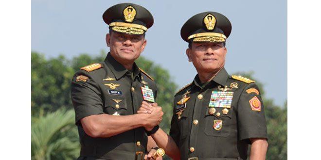 Sertijab Panglima TNI