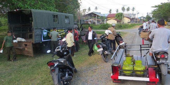 Kodim 0114/Aceh Jaya Gelar Operasi Pasar