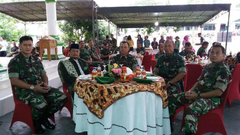 Safari Ramadhan Pangdam XVII/Cenderawasih Bersama Organik Rindam XVII/Cenderawasih dan Yonif 751/Raider