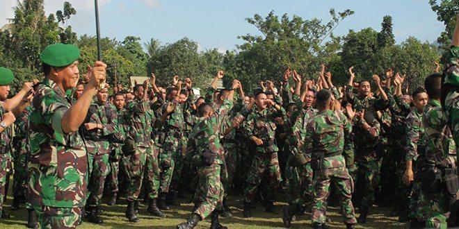 Panglima Kodam XVII/Cenderawasih Membuka Latihan Pratugas Pamrahwan Tahun 2015