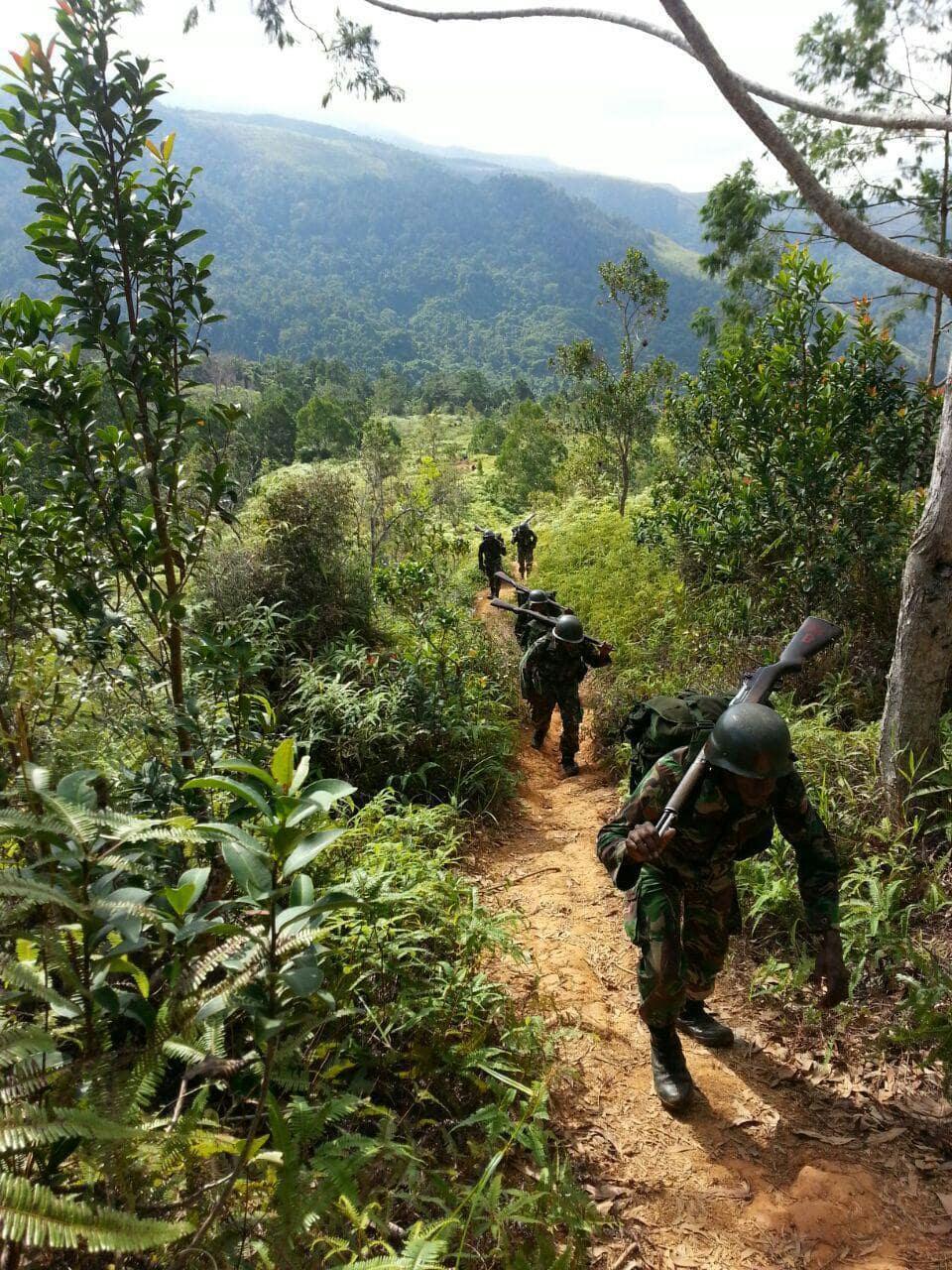 Siswa Secata Rindam XVII/Cenderawasih Laksanakan Latihan Limed