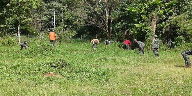 754/Enk Laksanakan Karya Bakti di Gerja Santo Carlos SP 3