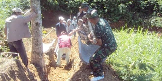 Babinsa Koramil 0804/05 Poncol Adakan Pertemuan Rutin dengan Kelompok Tani