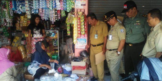 Koramil 09/Prambanan Bersama Tim Gabungan Sidak Operasi Pasar