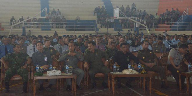 TNI-POLRI Halal Bihalal dengan Pemkot Madiun