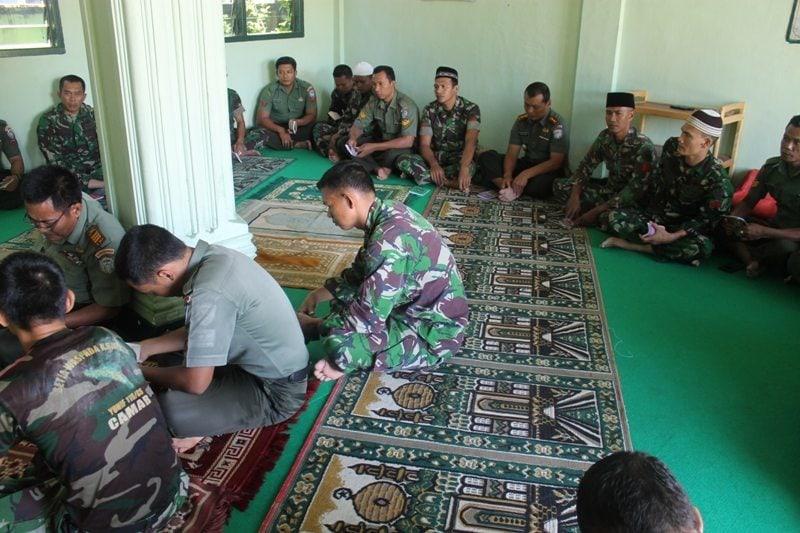 Kodim0105/Aceh Barat Melaksanakan Yasinan