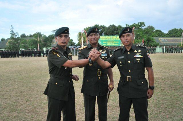 Pangdam IX Pimpin Sertijab Danyonif 900/Raider