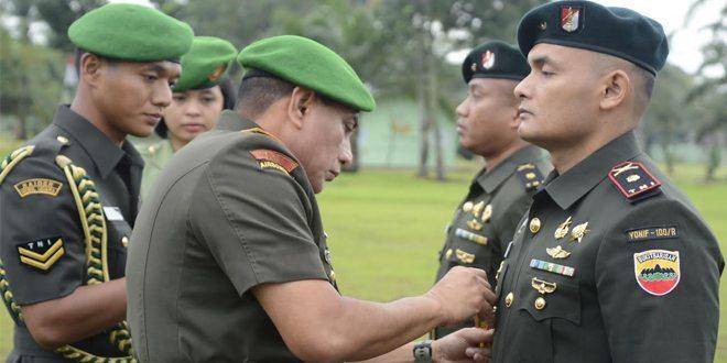 Pangdam I/BB Pimpin Sertijab Komandan Yonif 100/Raider