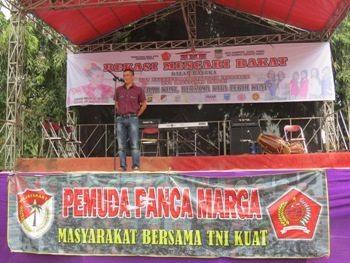 PPM Binaan Kodim 0509 Kab Bekasi Gelar Kompetisi Bekasi Mencari Bakat