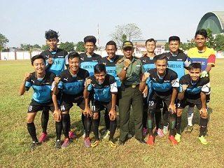 Koramil 04 Cengkareng Juara Satu Turnamen Sepak Bola Dandim Cup