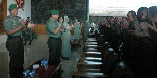 Kunjungan kerja Pangdam XVII/Cenderawasih di jajaran Korem 174/Anim Ti Waninggap