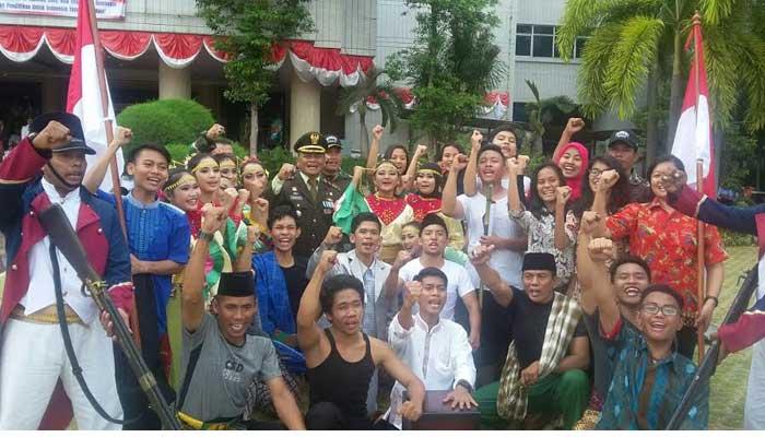 "Kodim Jakarta Utara Gelar Drama Kolosal "" Si Pitung"""