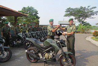 Dandim 0309/Solok Distribusikan Kendaraan Dinas Untuk Babinsa