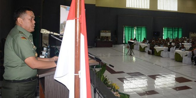 Kasdam I/BB Buka Seminar Kebangsaan FKPPI