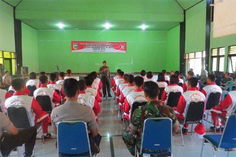 Dandim 1009/Plh Dan Bupati Tanah Laut Buka Latihan Paskibraka Dalam Rangka HUT RI