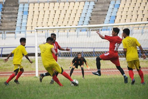 Pangdam Vi/Mlw Cup 2015, Pratama Yudha Panen Gol