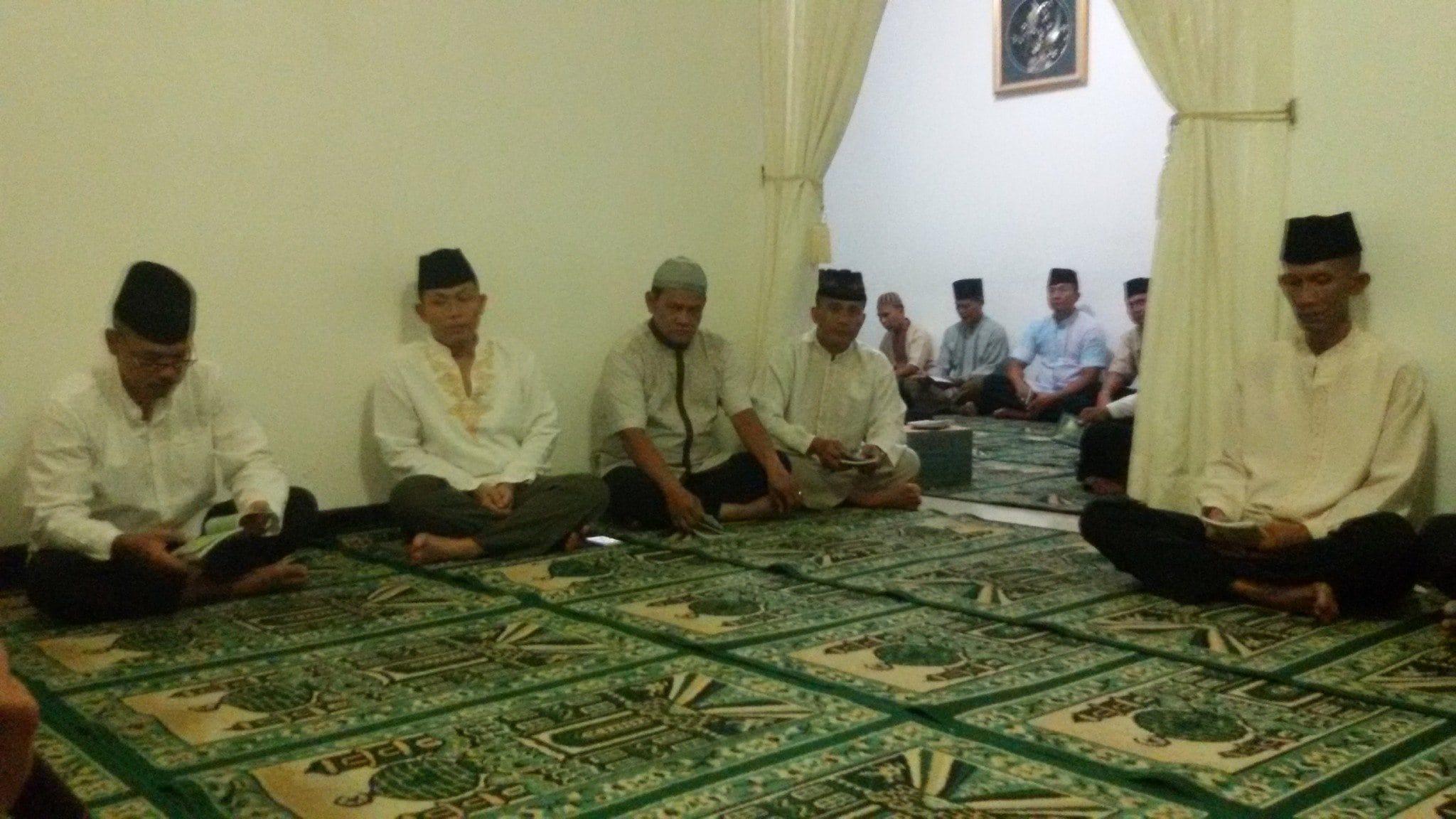 Doa Dan Yasin Menempati Kediaman Danrem 044/Gapo