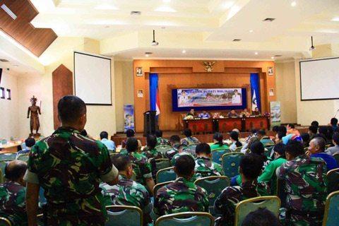 Dandim 0910/Mln Dan Bupati Malinau Beri Pengarahan Petugas Pertanian