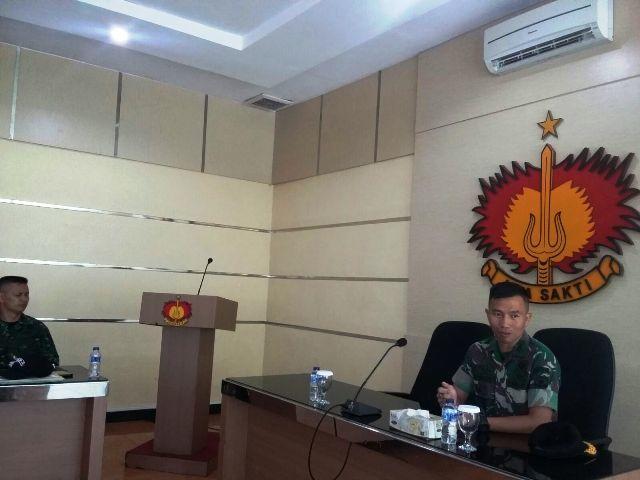 Kasbrigif 1 PIK/JS Pimpin Rakor Latma Wira Jaya Ausindo TA. 2015