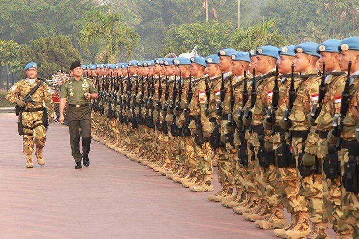 Misi Perdamaian TNI Mengemban Kredibilitas TNI