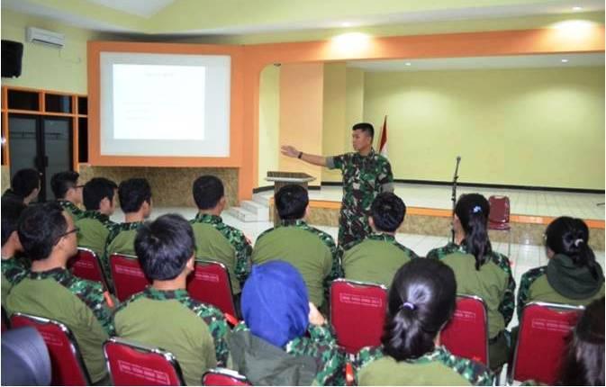 Pelatihan Bela Negara Di Yonif Mekanis 201/Jaya Yudha